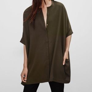 Aritiza Babaton Howard Oversized Top Tunic Blouse